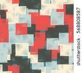 seamless pattern. stylized... | Shutterstock .eps vector #568808587
