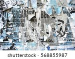 photo of urban collage... | Shutterstock . vector #568855987