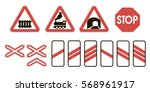 Attention Road Signs Warning O...