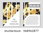abstract vector layout... | Shutterstock .eps vector #568962877