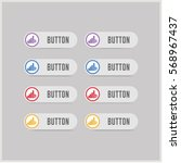 wifi signals icon | Shutterstock .eps vector #568967437