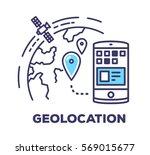 vector business illustration of ... | Shutterstock .eps vector #569015677