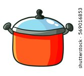 cute red dutch oven for cooking ...