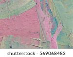 multicolored oil paint texture .... | Shutterstock . vector #569068483