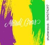 mardi gras calligraphic...   Shutterstock .eps vector #569074297