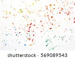Acrylic Paint Splatters And...
