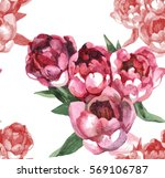 Hand Painting 4 Pink Tulips...