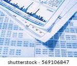 showing business and financial... | Shutterstock . vector #569106847