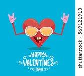 vector graphic creative happy... | Shutterstock .eps vector #569121913