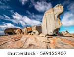 Remarkable Rocks With Blue And...