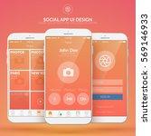 mobile social application...