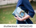 paris october 1  2016.... | Shutterstock . vector #569162143