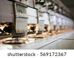 fabric industry machinery... | Shutterstock . vector #569172367