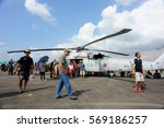 Small photo of CHONBURI, THAILAND-JANUARY 10: Unidentified people traipse in naval base on January 10, 2015 in Sattahip, Chonburi, Thailand. The activities showed in Thailand Children's Day.