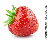 strawberry. fresh berry... | Shutterstock . vector #569229307