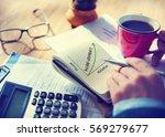 achievement creativity strategy ... | Shutterstock . vector #569279677