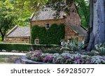 historic cook s cottage ... | Shutterstock . vector #569285077
