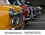 event of the classic mini cooper | Shutterstock . vector #569307013