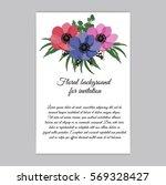 vector illustration. floral... | Shutterstock .eps vector #569328427