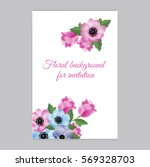 vector illustration. floral... | Shutterstock .eps vector #569328703