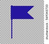 flag sign illustration. blue...