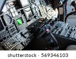 helicopter instrument and... | Shutterstock . vector #569346103