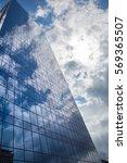 modern smoked glass office... | Shutterstock . vector #569365507
