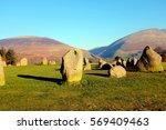 keswick  cumbria  uk. january... | Shutterstock . vector #569409463