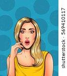 pop art vintage advertising... | Shutterstock .eps vector #569410117