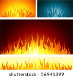 flames design background