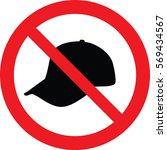 no hat sign vector