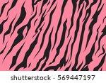 Stripe Animals Jungle Tiger Fu...