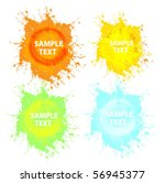 contemporary grunge banner.... | Shutterstock .eps vector #56945377