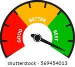 good better best | Shutterstock .eps vector #569454013