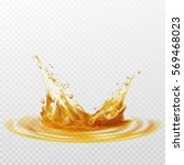beer foam splash of white and... | Shutterstock .eps vector #569468023