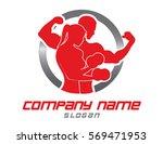 logo gym | Shutterstock .eps vector #569471953