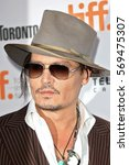 actor johnny depp attends 'the... | Shutterstock . vector #569475307