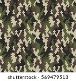 camouflage pattern background... | Shutterstock .eps vector #569479513