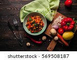 food photography  | Shutterstock . vector #569508187