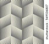 seamless diagonal pixel pattern.... | Shutterstock .eps vector #569536807