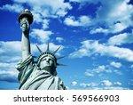 statue of liberty  new york  usa | Shutterstock . vector #569566903