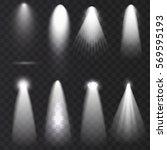 scene illumination collection ... | Shutterstock .eps vector #569595193