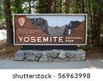 Main Entrance To Yosemite...