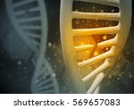 Background Image With Dna...