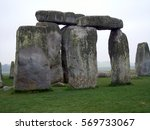 pillars of stonehenge | Shutterstock . vector #569733067