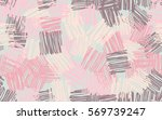 seamless pattern. casually... | Shutterstock .eps vector #569739247