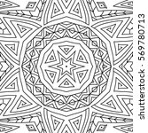 adult coloring book page. black ...   Shutterstock .eps vector #569780713