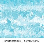 abstract snowflakes background | Shutterstock .eps vector #569807347