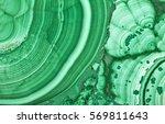 green copper ore texture macro | Shutterstock . vector #569811643