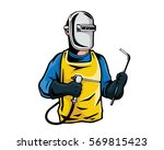 modern occupation people... | Shutterstock .eps vector #569815423